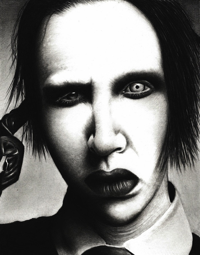 Marylin Manson by HarryMichael
