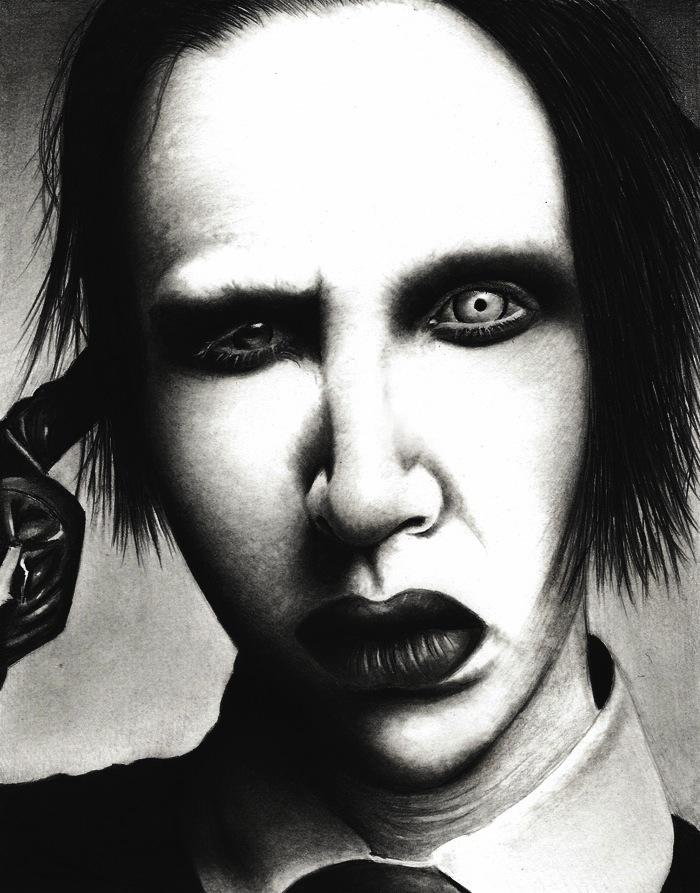 Marylin Manson by HarryMichael