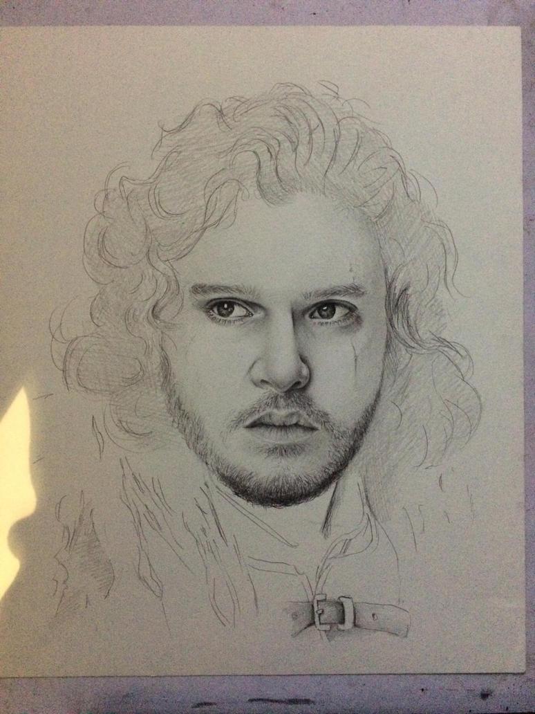 Jon Snow (Work In Progress) by HarryMichael