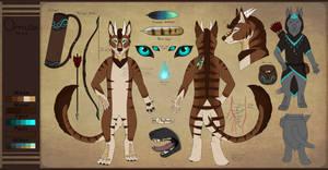 Omusa Ref (Anthro Form) 2020