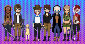 The Walking Dead Folks ..::KISEKAE EXPORTS::..