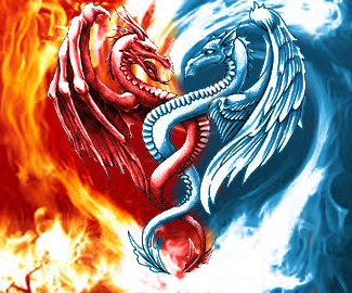 Dragon tattoo design by thelostsoulofpika on deviantart for Fire and ice tattoo shop