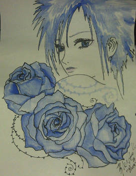 Blue roses and black thorns