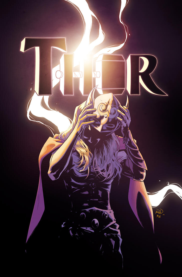 Thor #8 cover by RDauterman