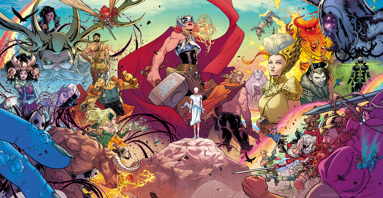 The Mighty Thor #1 cover