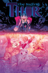 The Mighty Thor #3 cover