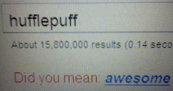 hufflepuff google joke by delsaber24