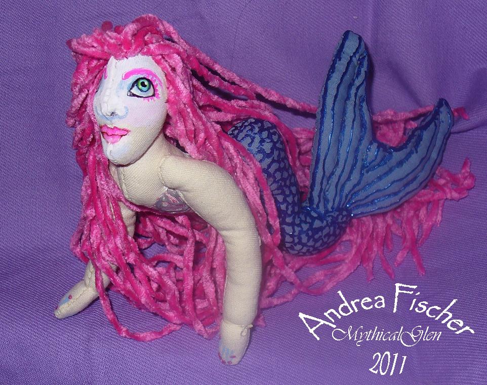 Brea - Small Mermaid by WhiteLadyoftheForest