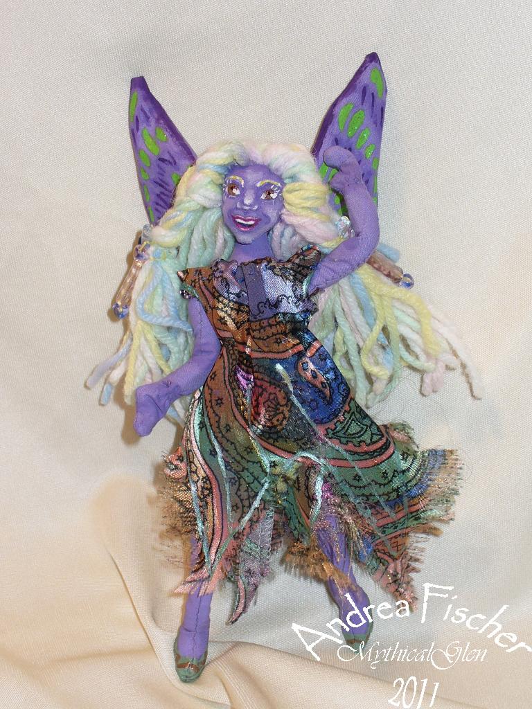 Chermia - Joyful Fairy by WhiteLadyoftheForest