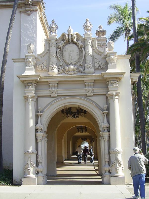 Balboa Park Archway Stock by johannachambers