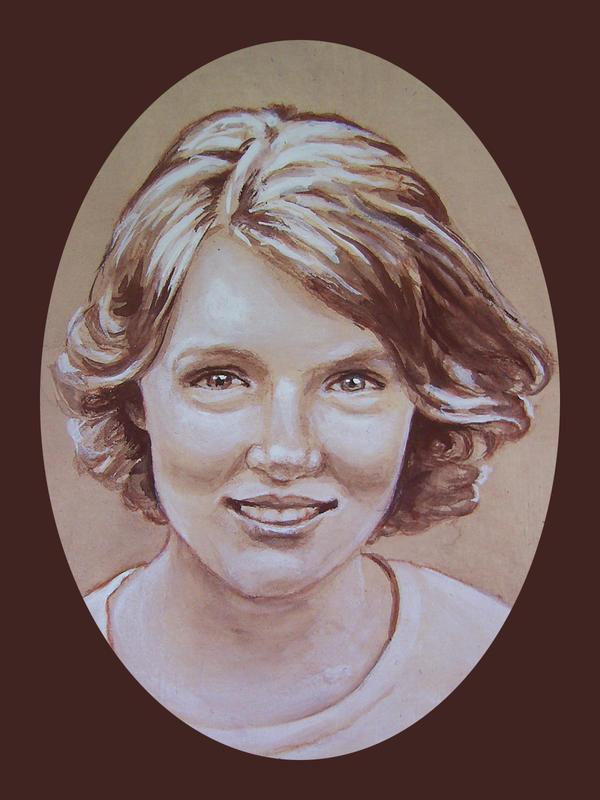 Miniature Portrait of Claire by johannachambers