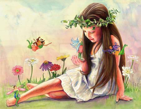 Meeting the Flower Fairies