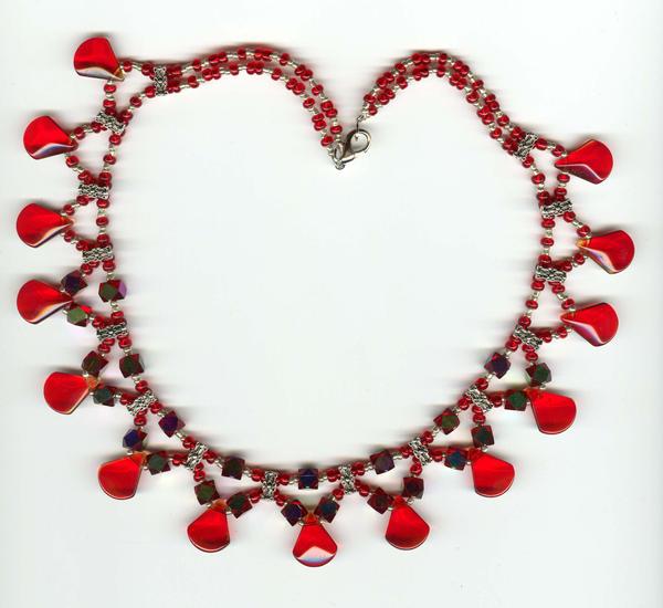 Mom's Birthday Necklace by johannachambers