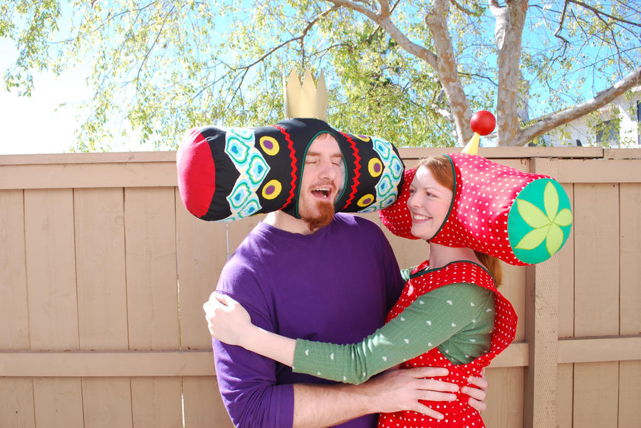 Beautiful Katamari costume 2 by johannachambers