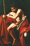 Carvaggio's John the Baptist