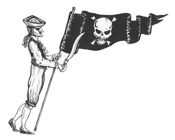 Pirate by johannachambers