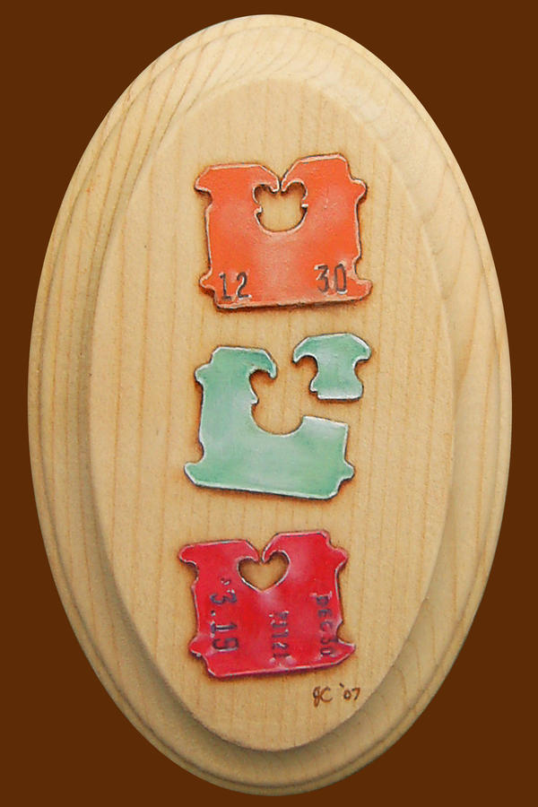 Triple Tab Miniature by johannachambers