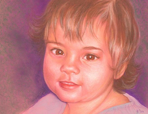 Portrait of Riley Nicole by johannachambers