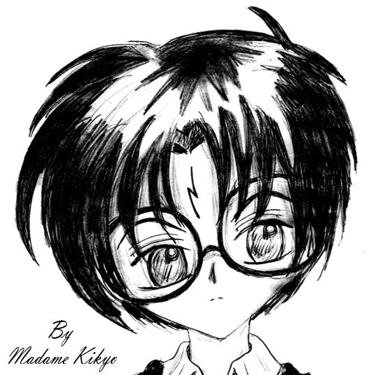 [FA Harry Potter] Mi Galería Harry___B_N_by_Madame_Kikyo