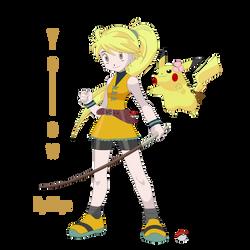 Pokemon Trainer Yellow and Chuchu