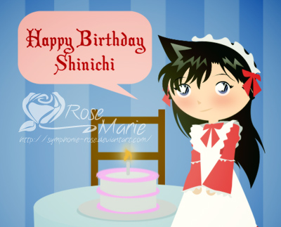 Happy Birthday Shinichi 2013 by Madame-Kikyo