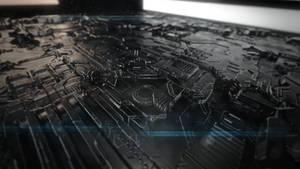 Mechanical Modern Abstract Wallpaper (4K/UHD)