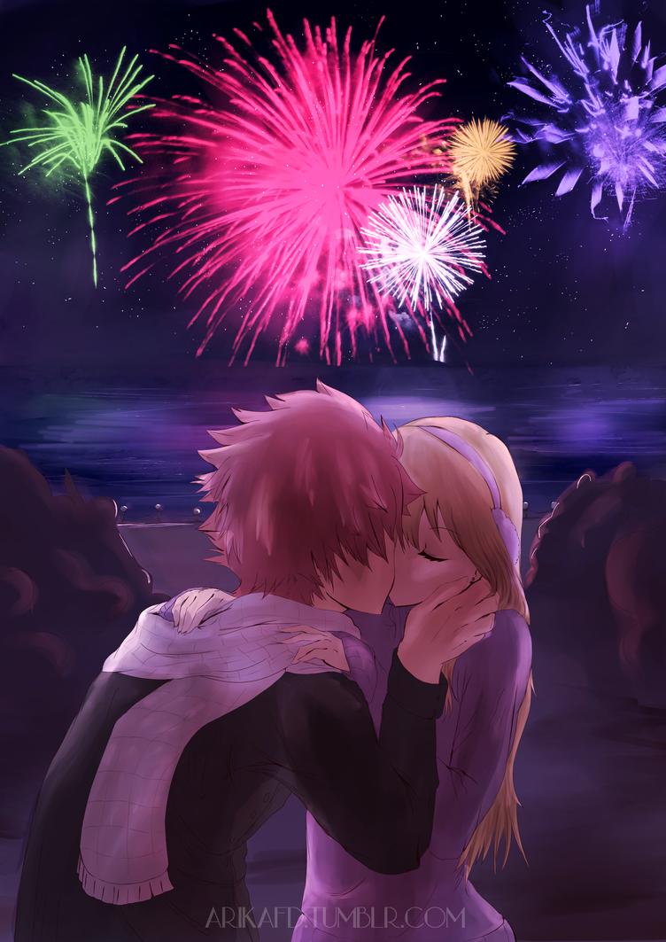 New Year's Kiss by ArikaFD