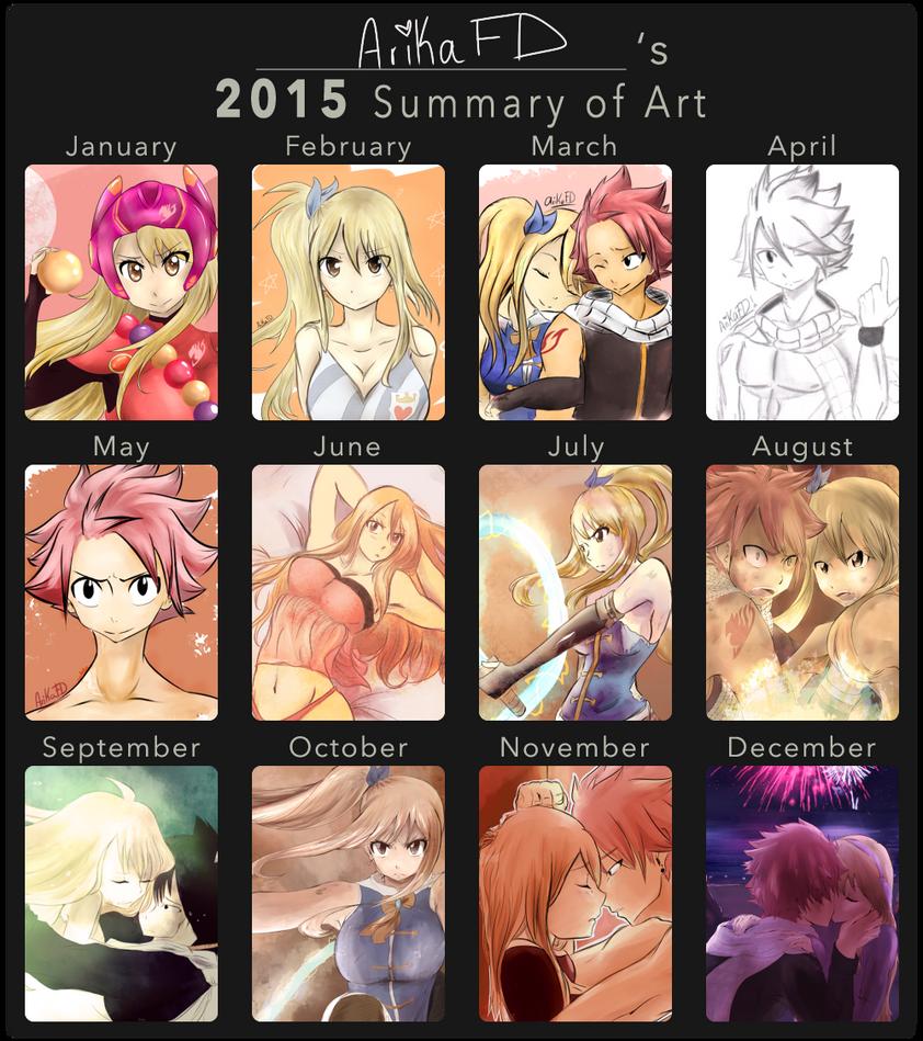 ArikaFD's 2015's Summary of Art! by ArikaFD