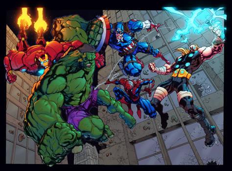 Avengers VS Hulk - Bowden