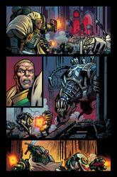 Warhammer 40,000 #11 page - COLOR by Malkamok