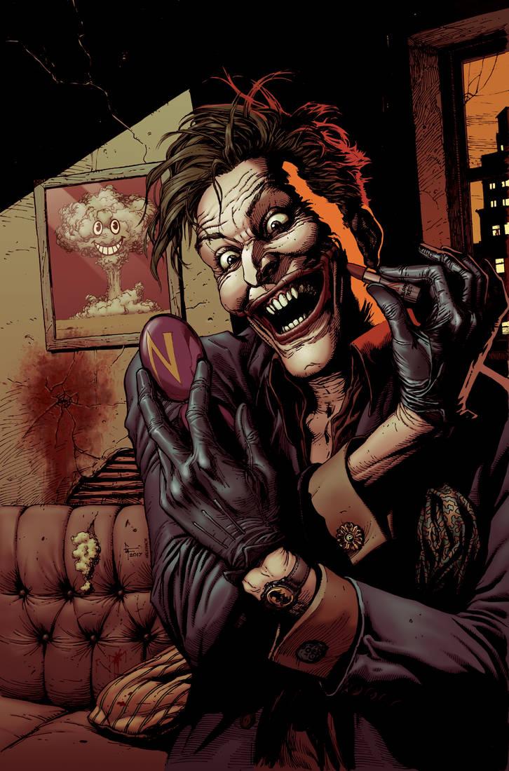 Gary Frank - Doomsday Clock Joker COLOR by Malkamok