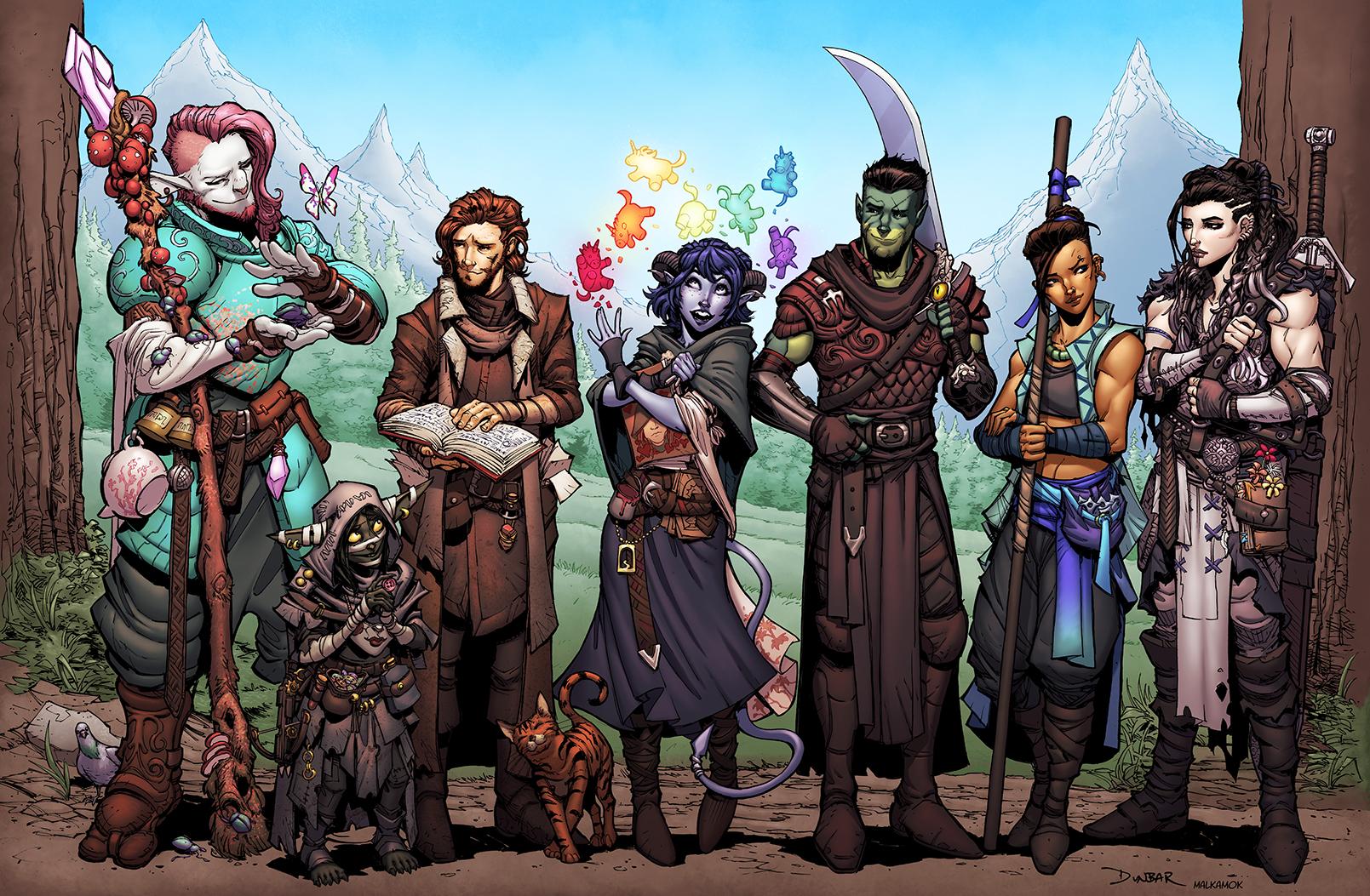 Mighty Nein - COLORS by Malkamok on DeviantArt