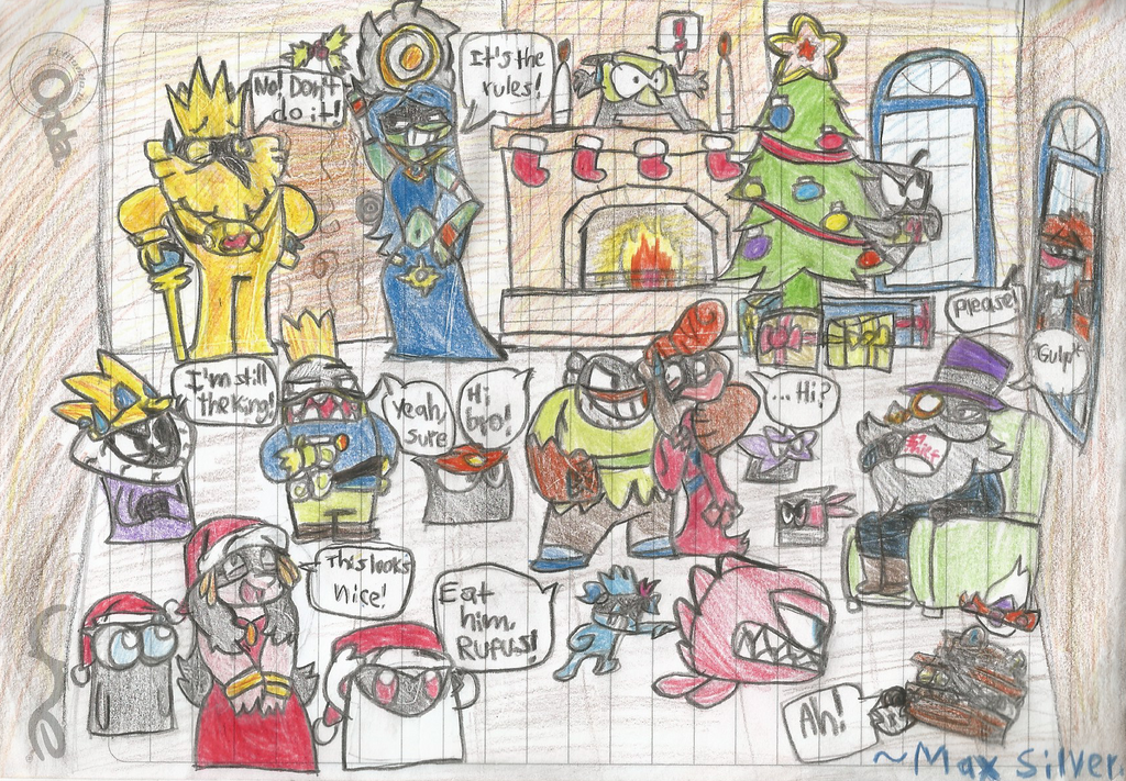 Merry King of Thieves Christmas! (Zeptolab) by DragonBlast71 on ...