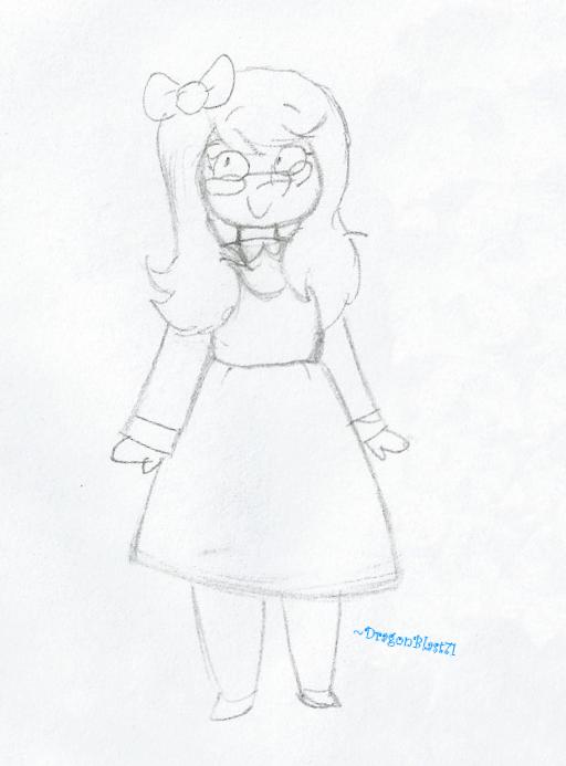 Smol Sketch by DragonBlast71