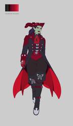 Perdita Nightshade - Crimson Raider by - Hexxart