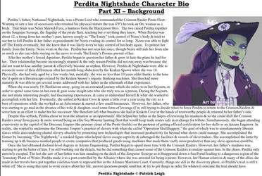 Perdita Nightshade Bio Pt 11 - Background