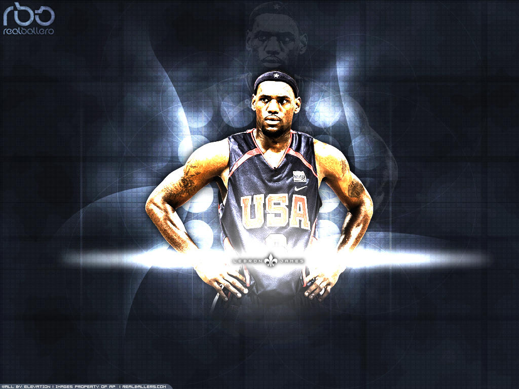 LeBron James - USA by Elevation21