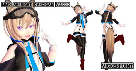 MMD Arknight Cardigan DL