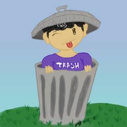 I'm A Trashcan by JaztheTrash
