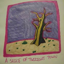 A slice of Twlight Town by JaztheTrash