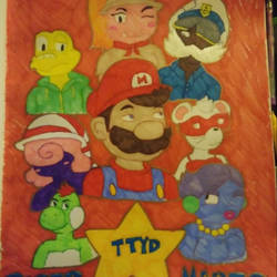 Paper Mario: TTYD  by JaztheTrash