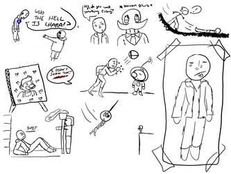 Uni Doodle Dump by JaztheTrash