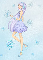Raffle- Frosty Fashion by Floralix