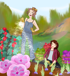 Contest Entry- Gardening in Floridena by Floralix