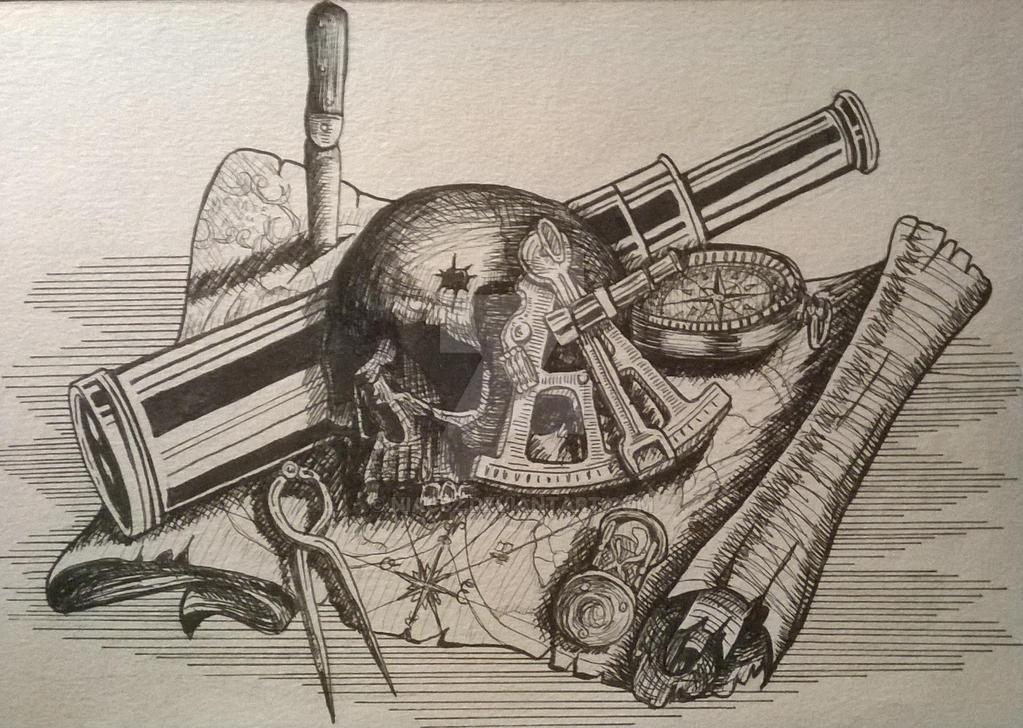 map skull by niac82