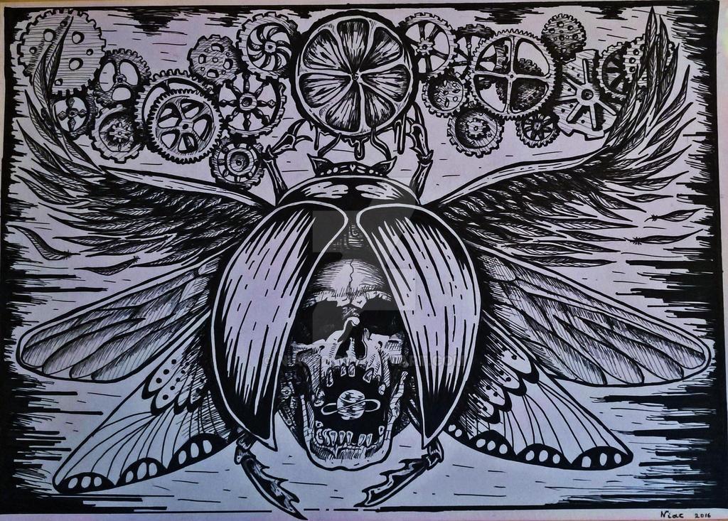 skull bug by niac82
