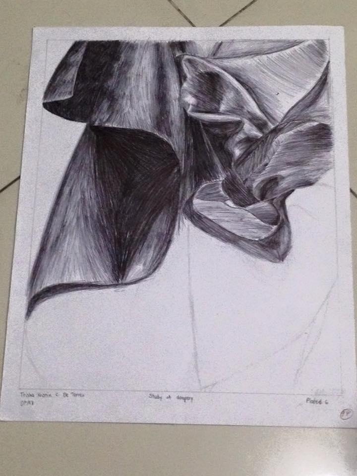 Study of Drapery by BeeBeeBoop
