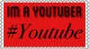 Im a youtuber stamp by JannTheInsaneGuy