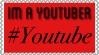 Im a youtuber stamp by JannTheInsaneGuy