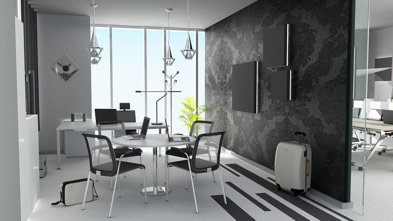 Black And White Office By Shyntakun On DeviantArt
